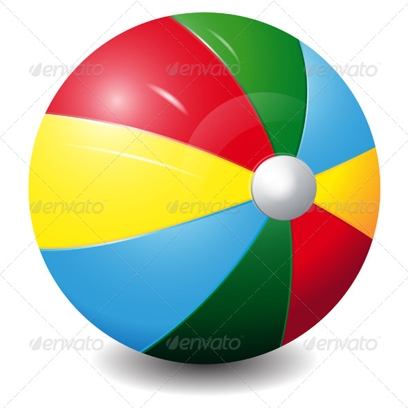 GraphicRiver Bright Colour Ball Icon 7523057