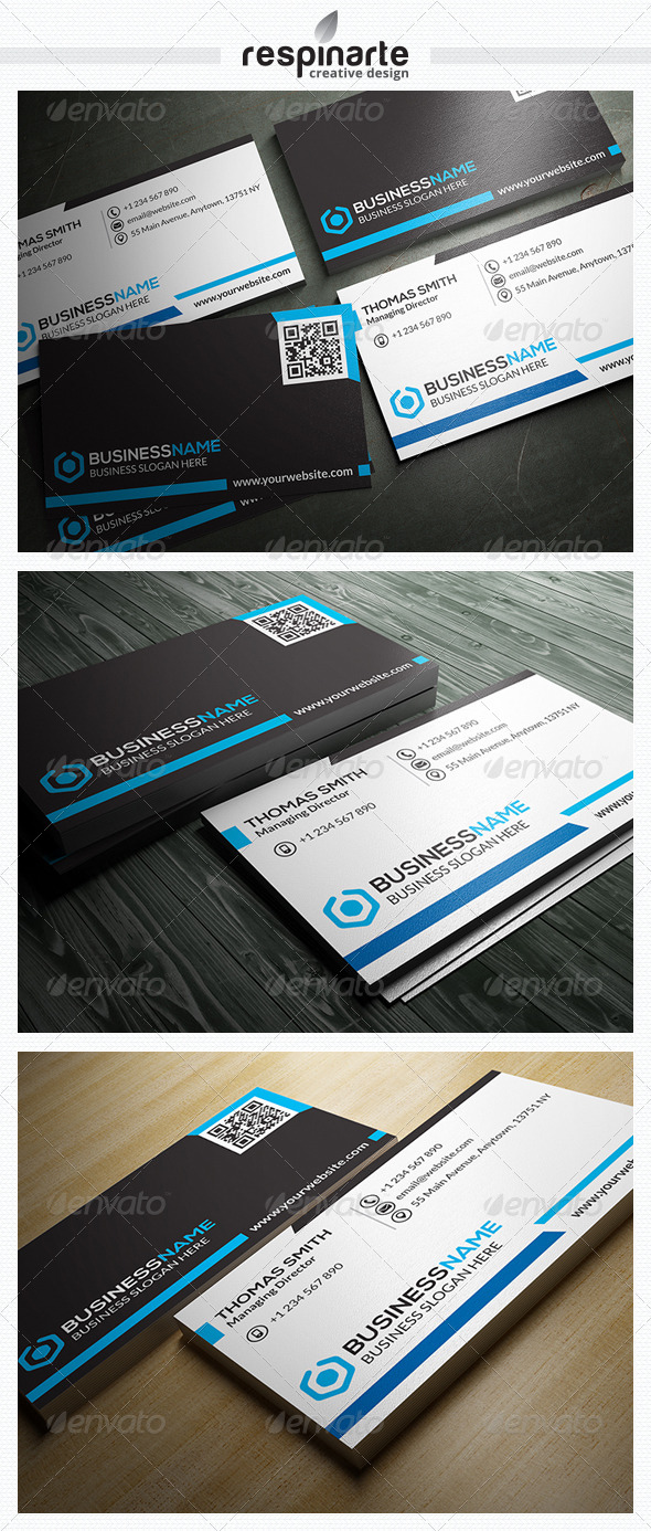 GraphicRiver Corporate Business Card RA7 7524673
