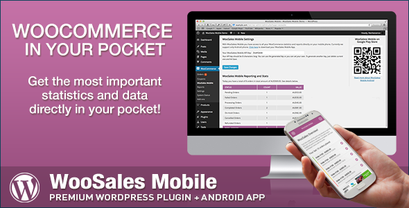 CodeCanyon WooCommerce WooSales Mobile 7527092
