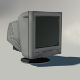 Old CRT Monitor - 3DOcean Item for Sale