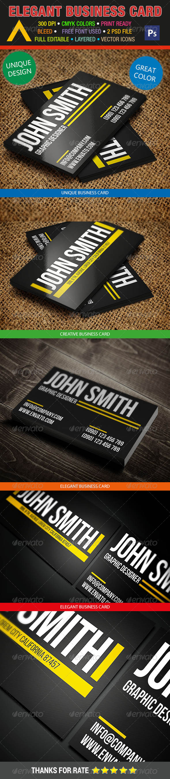 GraphicRiver Creative Business Card 247 7528559