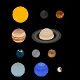 Solar System (Sun Planets Moon) UV textured assets - 3DOcean Item for Sale