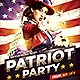 Patriot Party Flyer Template - GraphicRiver Item for Sale