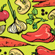 Vegetable Pattern - GraphicRiver Item for Sale