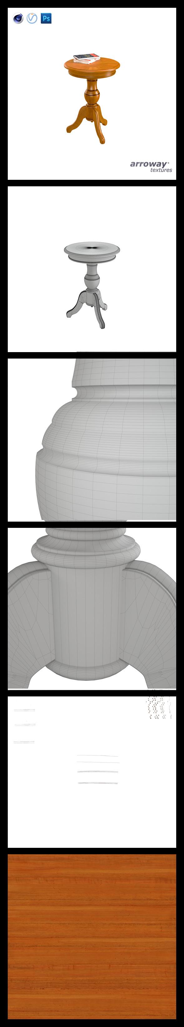 3DOcean Triant Harmony 535 Hi-Poly 7540048