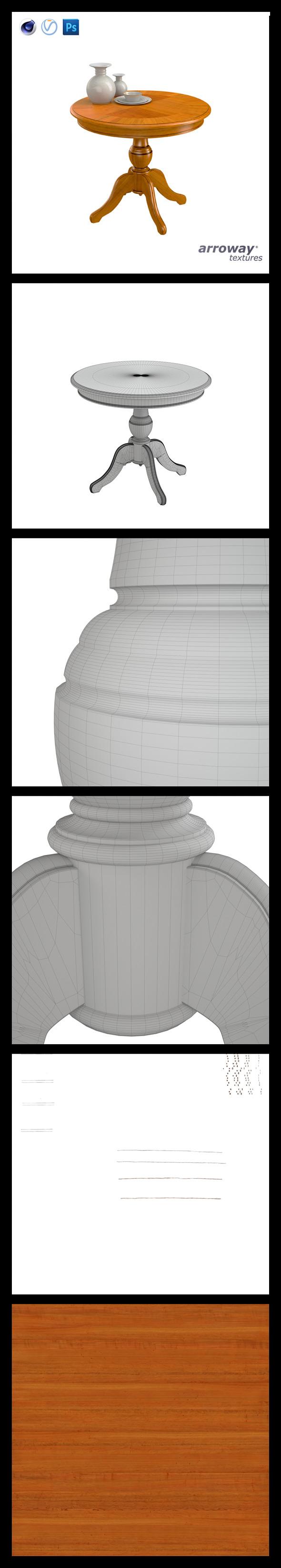3DOcean Triant Harmony 536 Hi-Poly 7540049