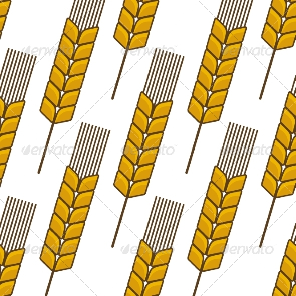 GraphicRiver Wheat Pattern 7541294