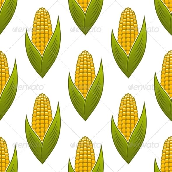 GraphicRiver Corn on the Cob Pattern 7541342