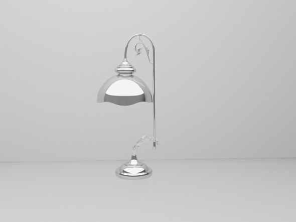 3DOcean Chrome lamp 7514346