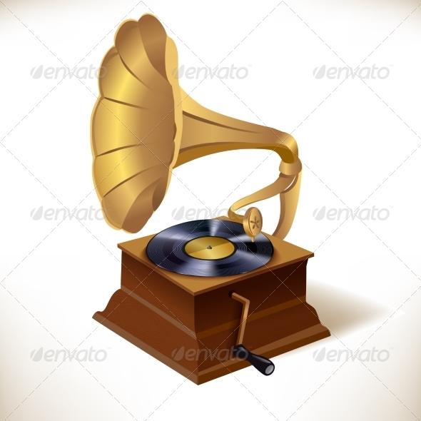 GraphicRiver Gramophone Print Template 7545519
