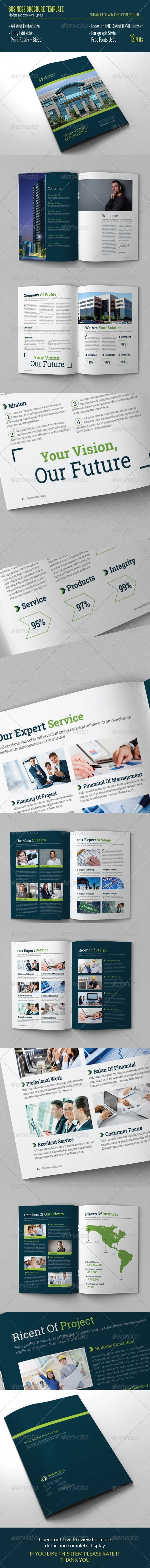 GraphicRiver Business Brochure Template 7546284