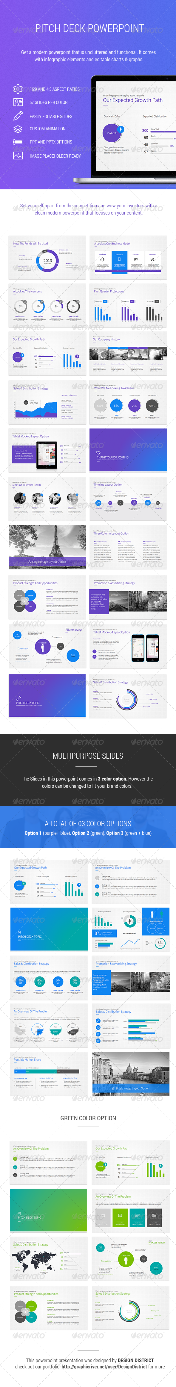 GraphicRiver Pitch Deck Powerpoint 7546326