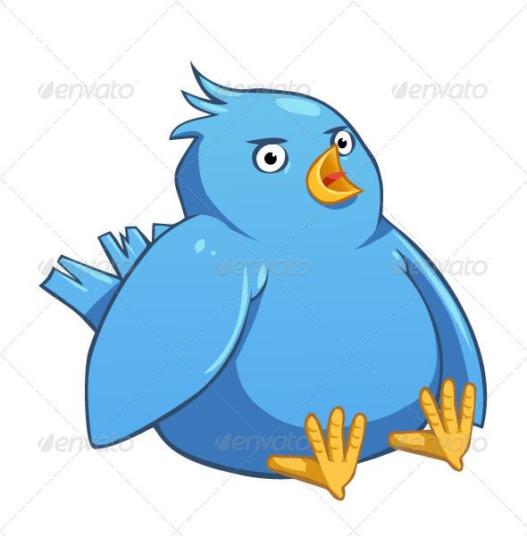 GraphicRiver Twitter Bird 7546599