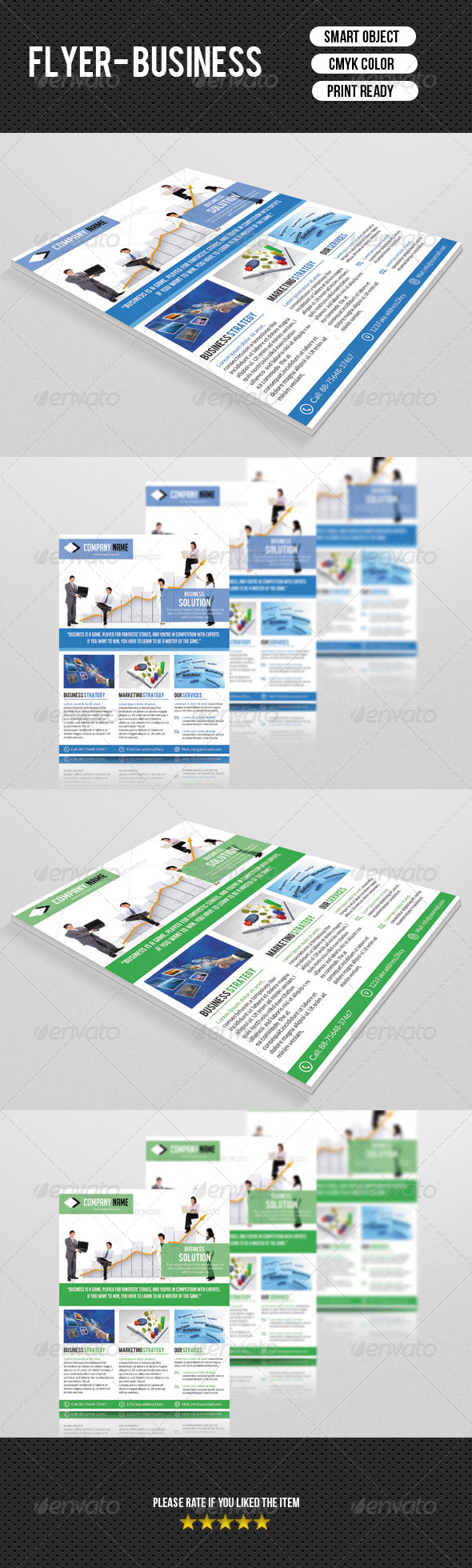 GraphicRiver Business Flyer Template 7547947