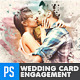 Creative Engagement Wedding Card - GraphicRiver Item for Sale