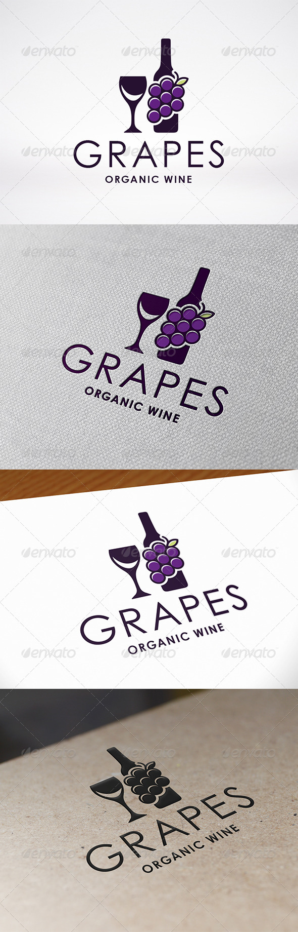 GraphicRiver Wine Logo 7548518