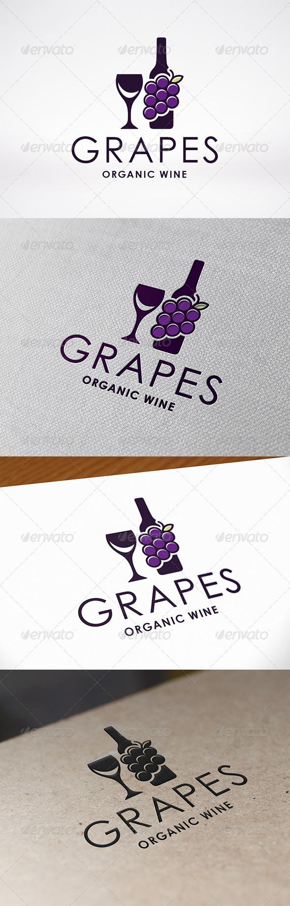 GraphicRiver Wine Logo 7548518