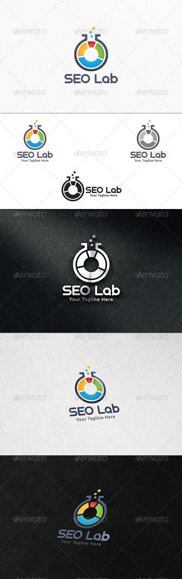 GraphicRiver SEO Lab Logo Template 7548524