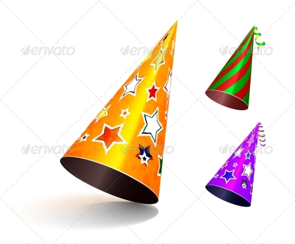 GraphicRiver Party Hat 7549335