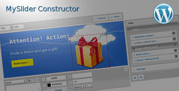 CodeCanyon MySlider Constructor for WordPress 7547952