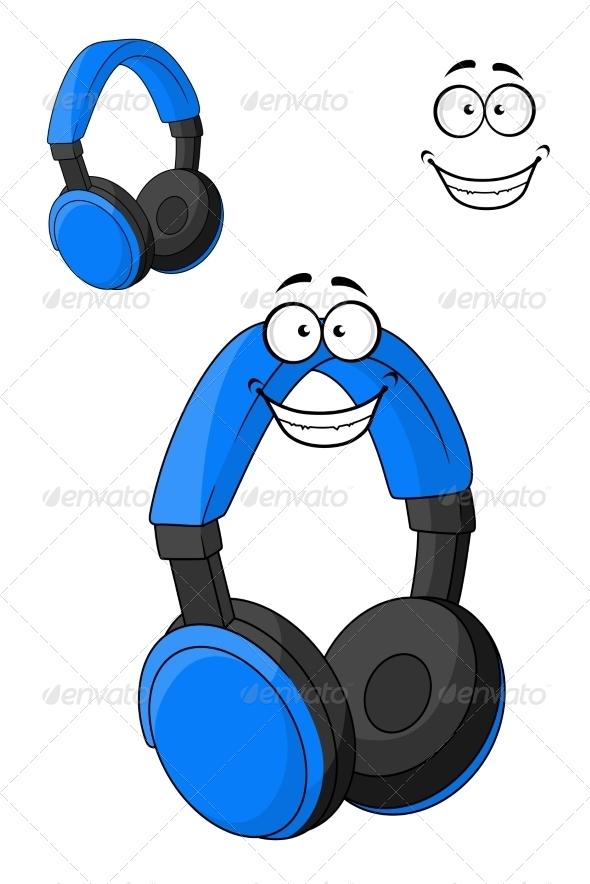 GraphicRiver Set of Headphones or Earphones 7549639