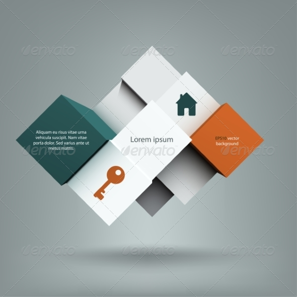 GraphicRiver Cubes Background 7550326