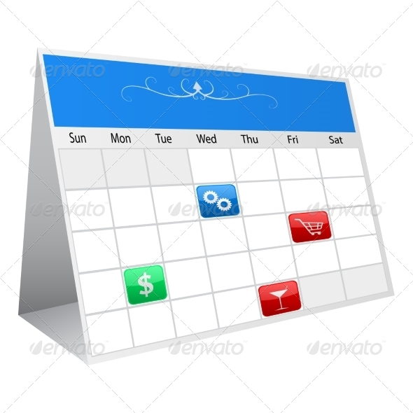 GraphicRiver Calendar 7550503