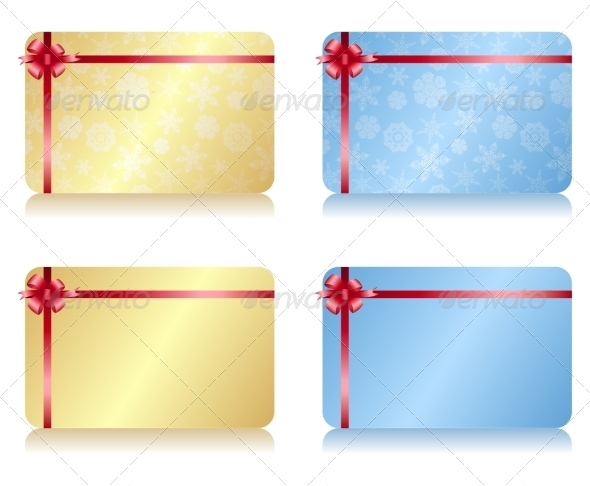 GraphicRiver Christmas Gift Card 7550904