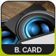 Photographer Business Card v2 - GraphicRiver Item for Sale