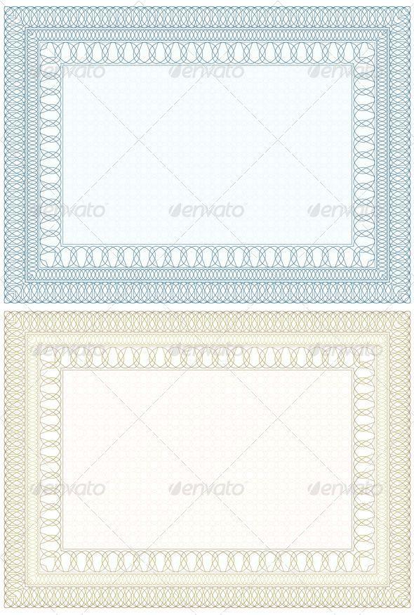 GraphicRiver Decorative Frame for Document 7551200