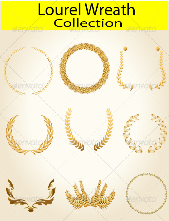 GraphicRiver Laurel Wreath 7552763