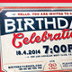 Birthday Retro/Vintage Invitation Card - GraphicRiver Item for Sale