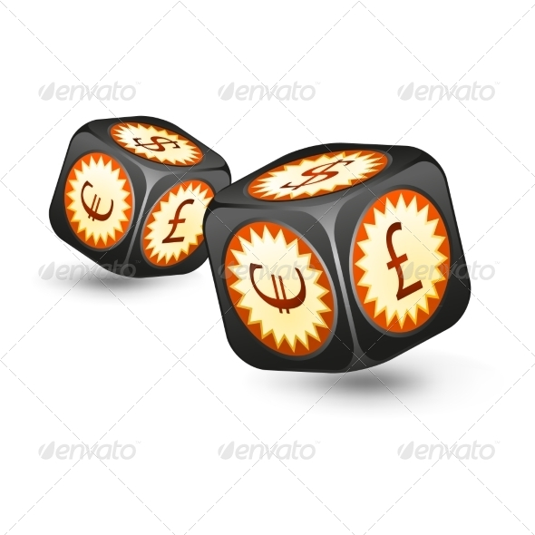 GraphicRiver Dice with Money Symbols 7553948