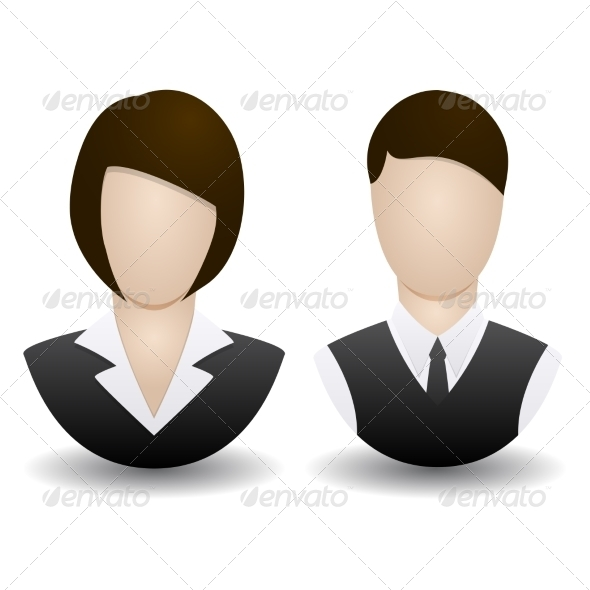 GraphicRiver Man and Woman 7554882
