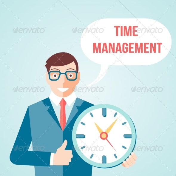 GraphicRiver Time Management Poster 7555197