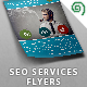 SEO Services Flyers - GraphicRiver Item for Sale