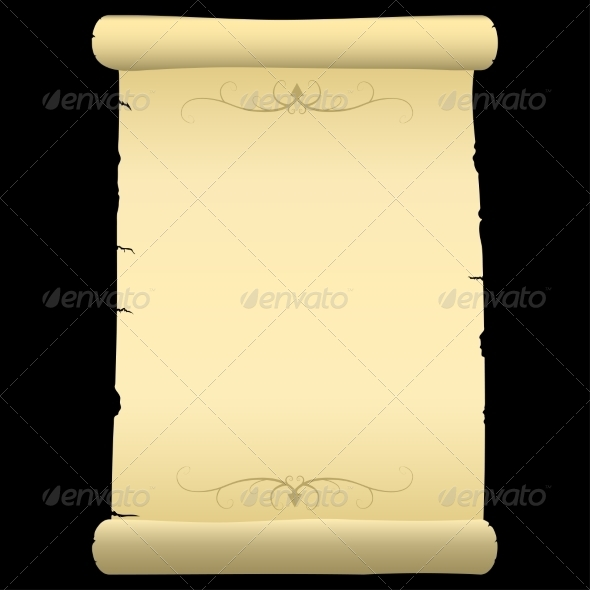 GraphicRiver Blank Ancient Parchment 7555958
