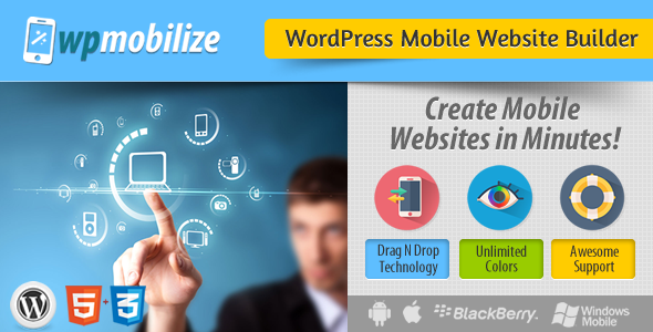CodeCanyon WordPress Mobile Website Builder Plugin 7505828
