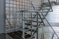 Steel stairway in a modern office building - PhotoDune Item for Sale