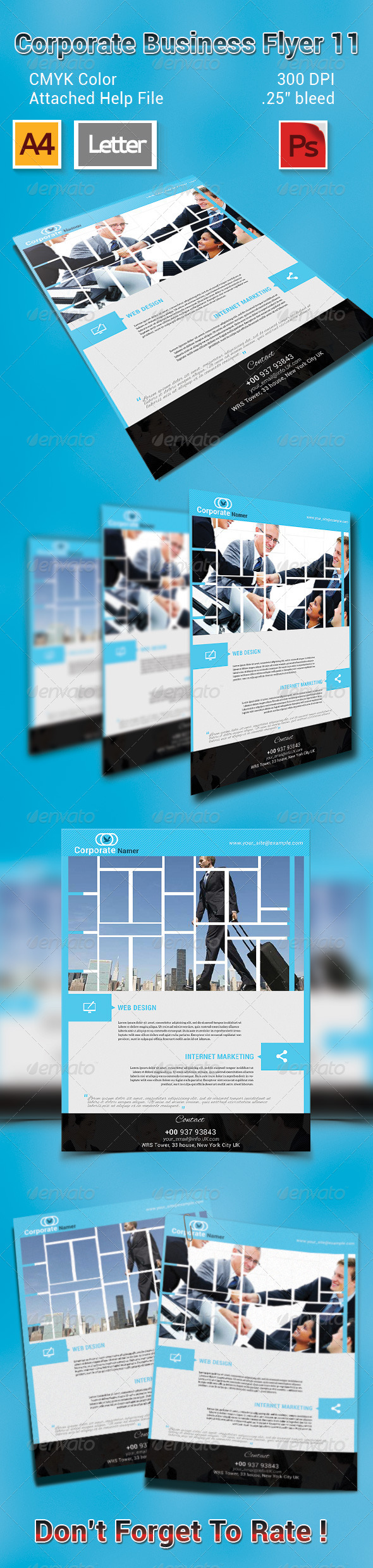 GraphicRiver Corporate Business Flyer 11 7556655