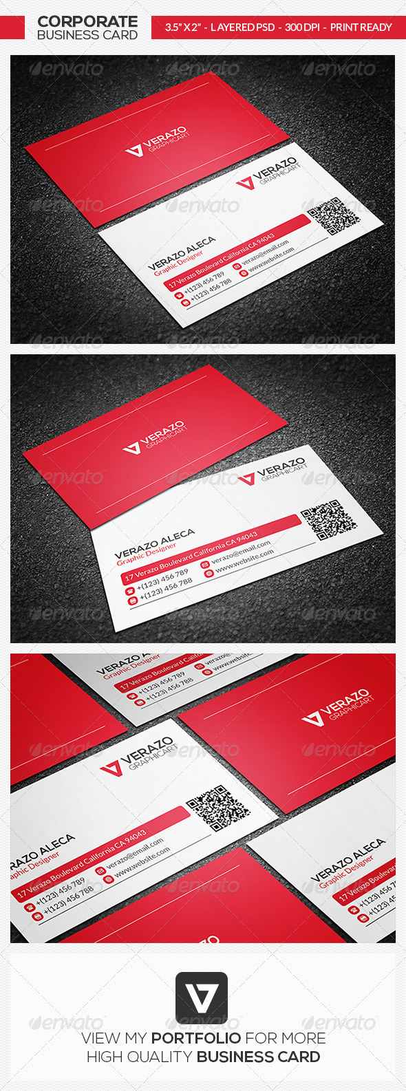 GraphicRiver Corporate Business Card 29 7557401