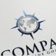 Compass Logo - GraphicRiver Item for Sale