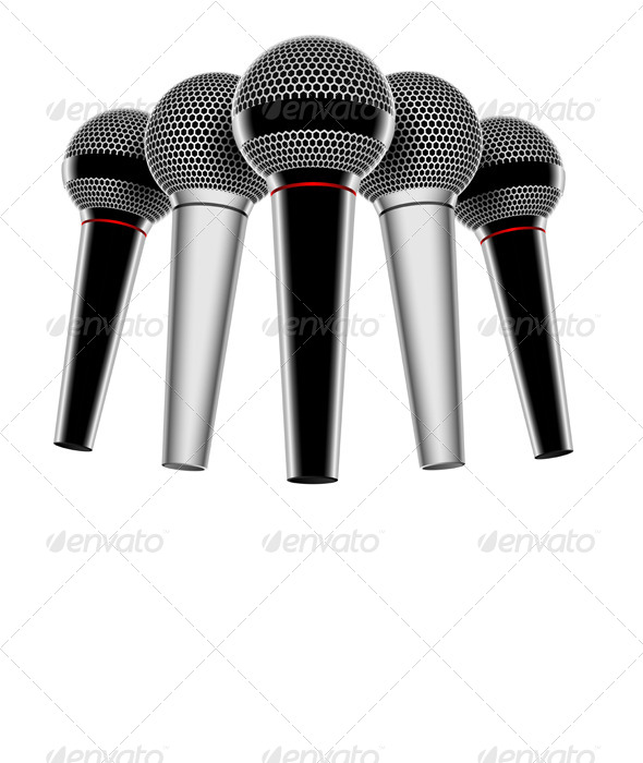 GraphicRiver Microphone 7559481