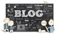 Blogging on Blackboard - PhotoDune Item for Sale