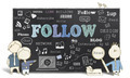 Follow on Blackboard - PhotoDune Item for Sale