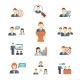 Business People Icons - GraphicRiver Item for Sale