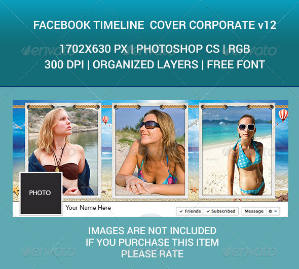 GraphicRiver Facebook Timeline Cover Corporate v12 7561517