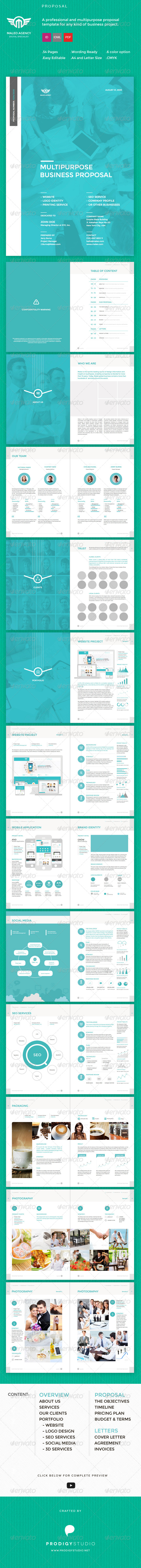 GraphicRiver Maleo Multi Purpose Proposal Template 7562638