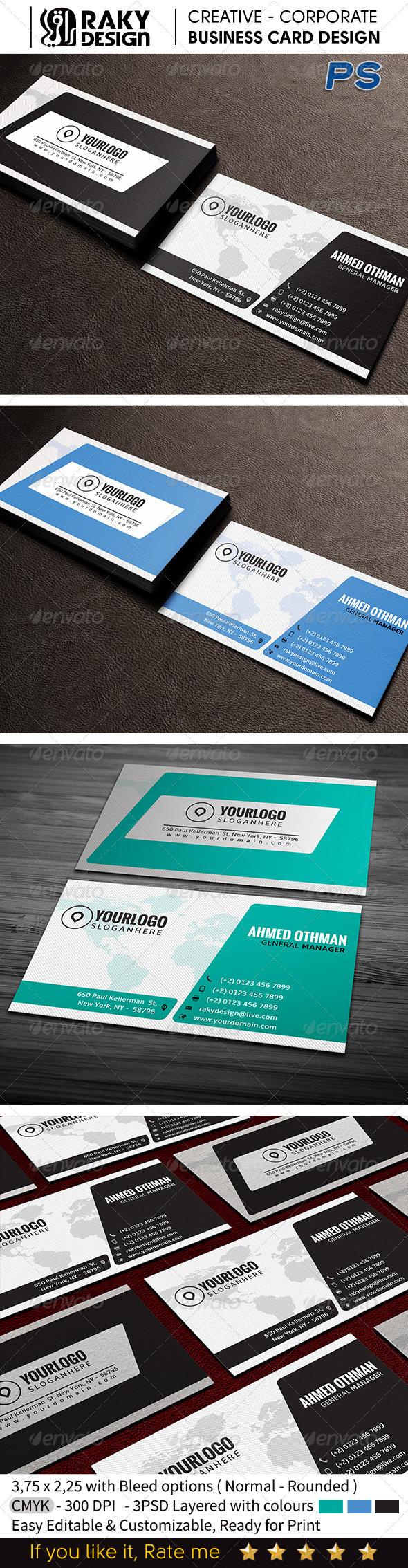 GraphicRiver Corporate Business Card V13 7563771