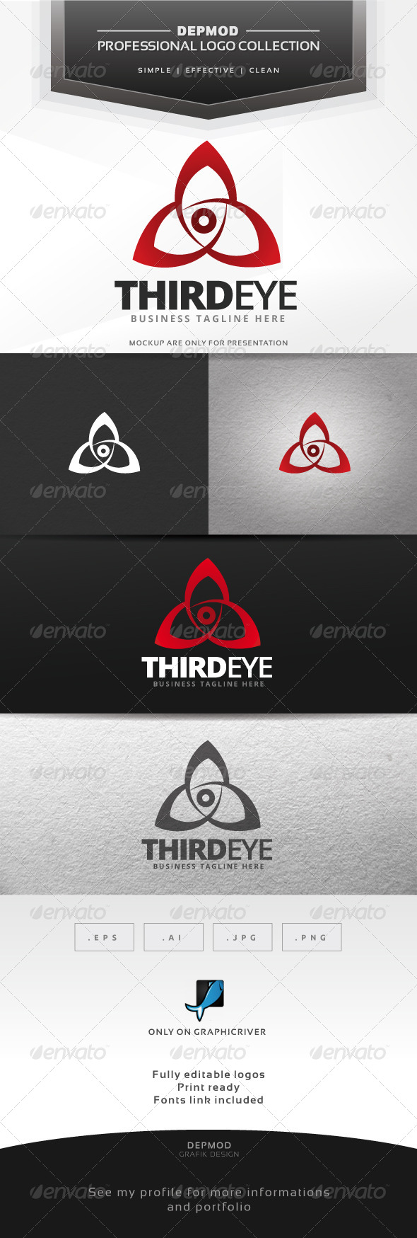 GraphicRiver Third Eye Logo 7563901